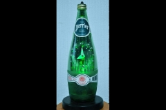 PERRIER BOTTLE CLOCK 12""