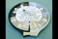 "BRAIN CLOCK - 22"" CIRCLE (Cambridge Centre for Brain Repair)"