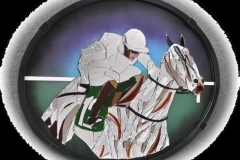 "A P McCoy on Mountain Tunes 29"" x 24"" £1000"