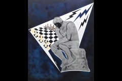 """The Chess Payer 34""""h x 28w £500"""