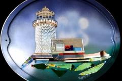 "Belle Toute Lighthouse 20"" x 16"" £350"