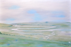 "CUCKMERE HAVEN: 20"" x 16"" £250 (Oil)"
