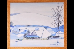 """THE NORTH FROM THE SOUTH: 27"""" x 22"""" £600"""