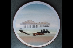 WEST PIER BRIGHTON: (with original bolt) £600 (Oil)