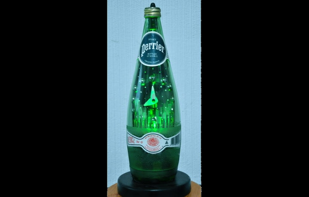PERRIER BOTTLE CLOCK
